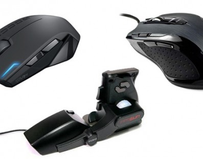 Tres ratones para PC para tener en cuenta