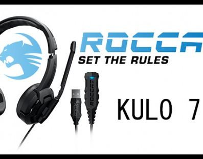 Roccat Kulo Virtual 7.1 sonido envidiable de tamaño compacto.