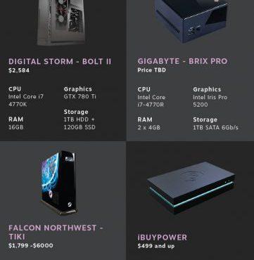 Steam Machine: Valve presenta sus 12 prototipos