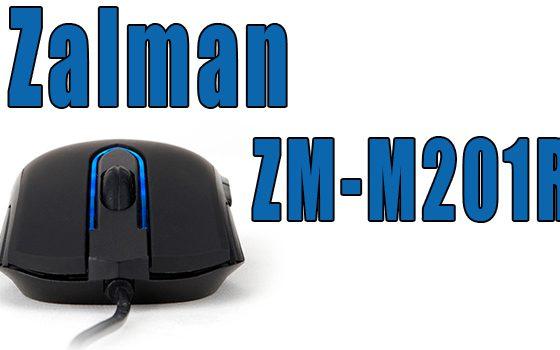 Zalman ZM-M201R un ratón para todos!