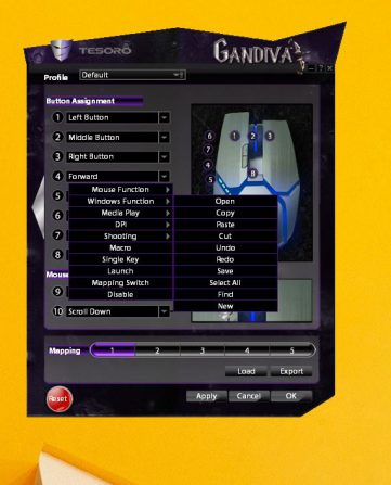 Tesoro Gandiva Software
