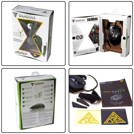 Gamdias Hades - Packaging