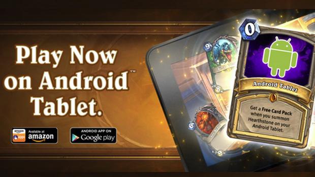 Hearthstone comienza a llegar a nuestras tabletas Android