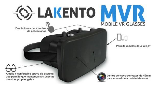 Gafas de realidad virtual Lakento MVR