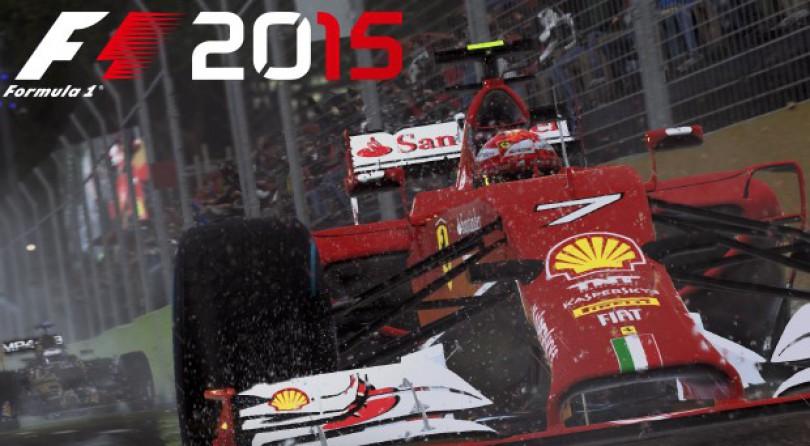 F1 2015 llegará en Junio a PC, PS4 y Xbox One