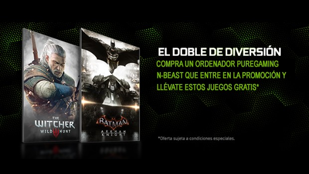 PureGaming NBEAST – llevan The Witcher 3: Wild Hunt y Batman: Arkham Knight