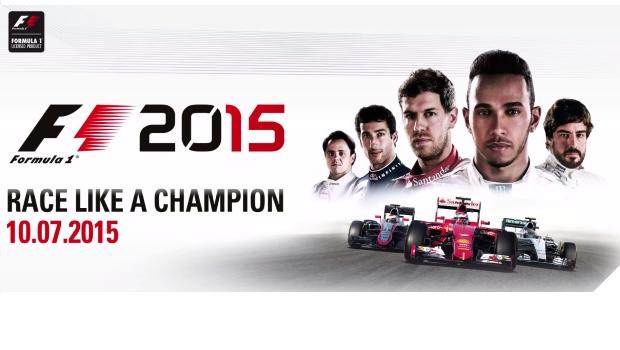 F1 2015 primer trailer y Fecha de lanzamiento