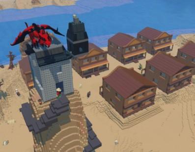 Lego Worlds, un minecraft pero con el mundo LEGO