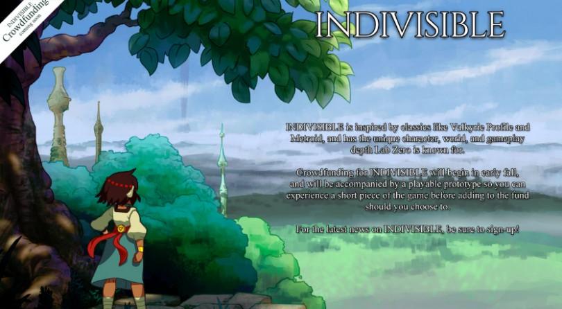 Indivisible – En proyecto Crowdfunding