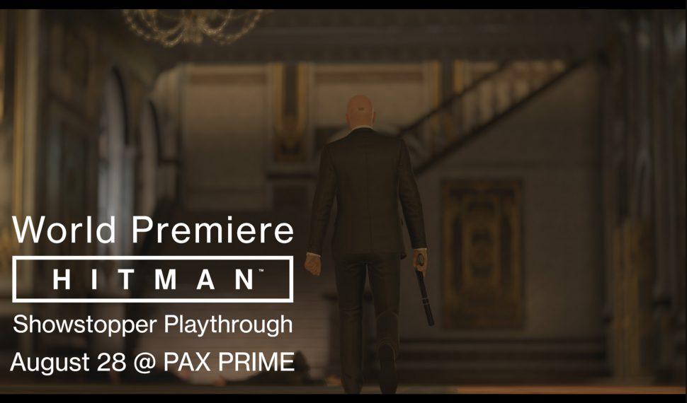 Hitman. Presentación mundial en la Pax Prime