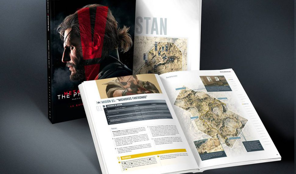 Metal Gear Solid V: The Phantom Pain. Llega su Guía Oficial