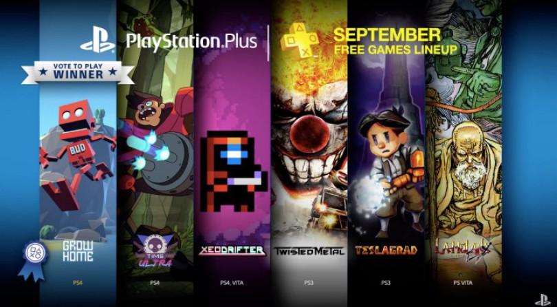 Desvelados los juegos de PS Plus para septiembre