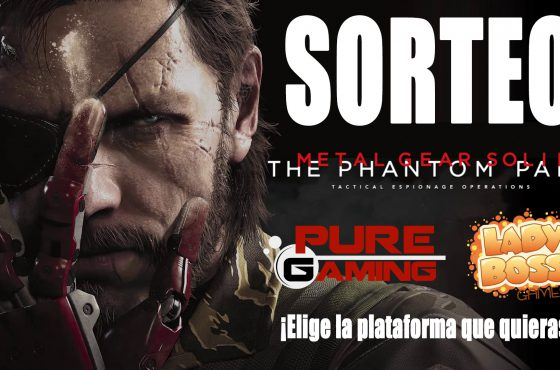 Sorteo Metal Gear Solid V