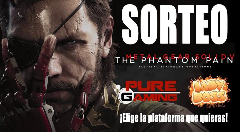 Sorteo Metal Gear Solid V