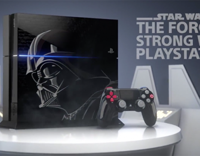 PS4 edición especial STAR WARS