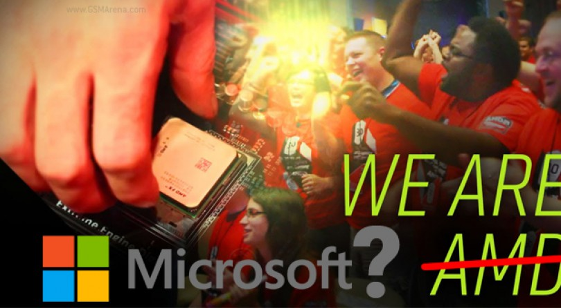 Microsoft podría comprar AMD (Rumor)