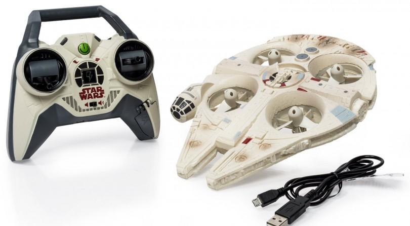 El dron del halcón milenario ya a la venta