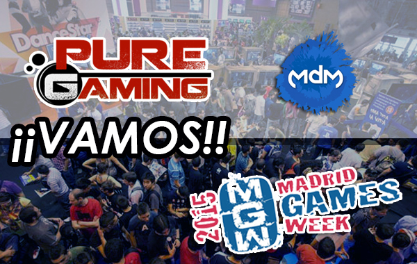 Pure Gaming va a la Madrid Games Week