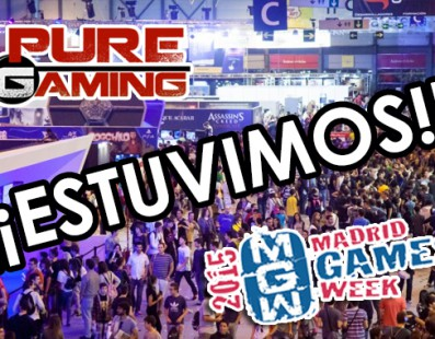 Resumen Madrid Games Week 2015