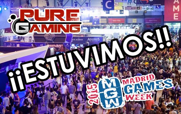 Resumen Madrid Games Week 2015