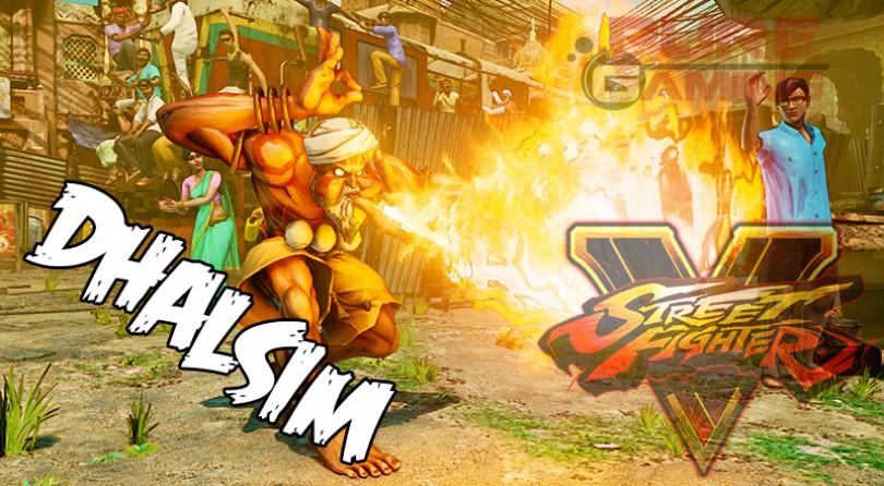 Dhalsim llega a Street Fighter V