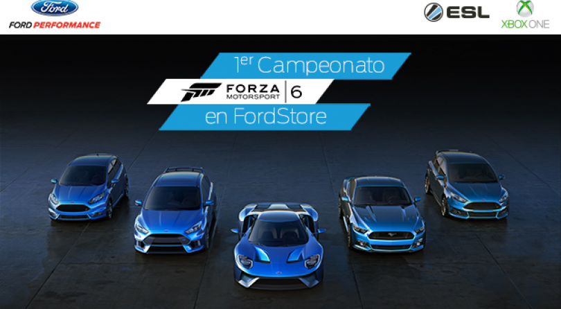 Gana hasta 1500 euros en el Ford Performance Championship con Forza MotorSport 6