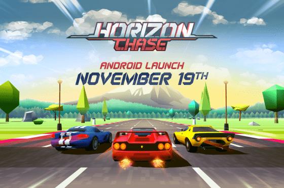 Horizon Chase llega a Android el próximo 19 de Noviembre