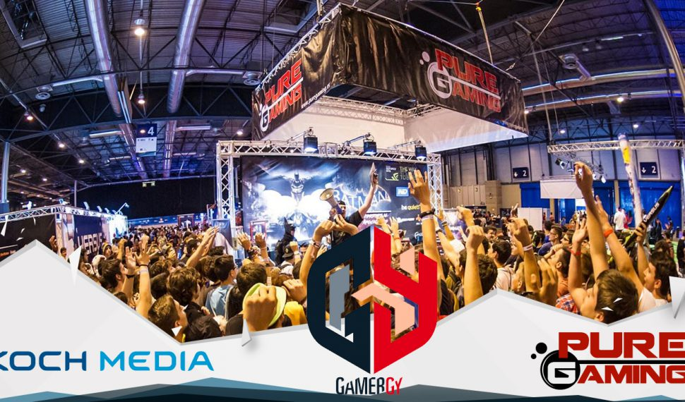 Gamergy 4 Edicion – Area PureGaming con KOCH MEDIA