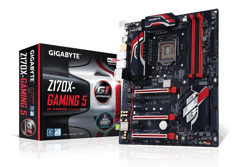 Placa base Gigabyte Z170X-Gaming 5