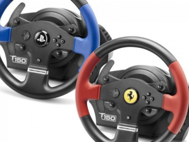 volante thrustmaster t150 puregaming videojuegos y hardware. Black Bedroom Furniture Sets. Home Design Ideas