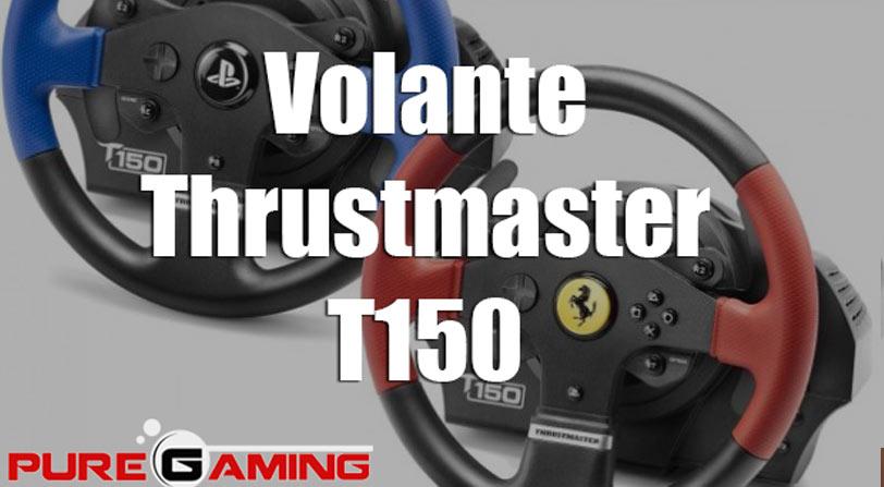 Volante Thrustmaster T150: Análisis