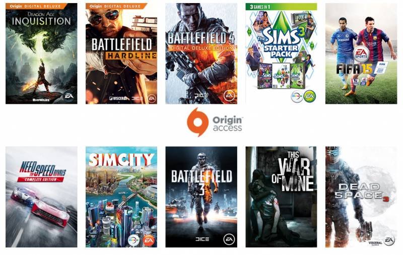 Origin Access para PC