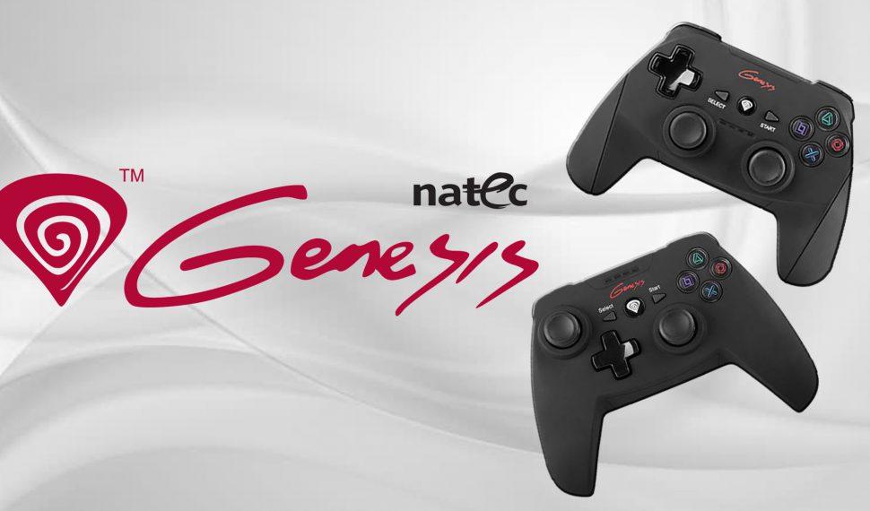 Gamepads inalámbricos PV58 y PV59 de Natec Genesis