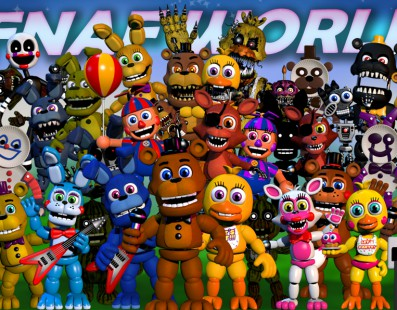 Five Nights at Freddy's World, retirado de Steam