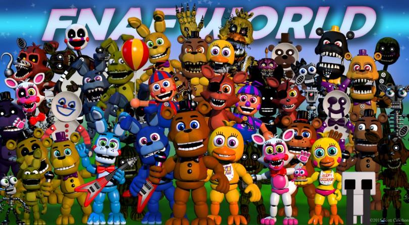 Five Nights at Freddy's World, retirado de Steam