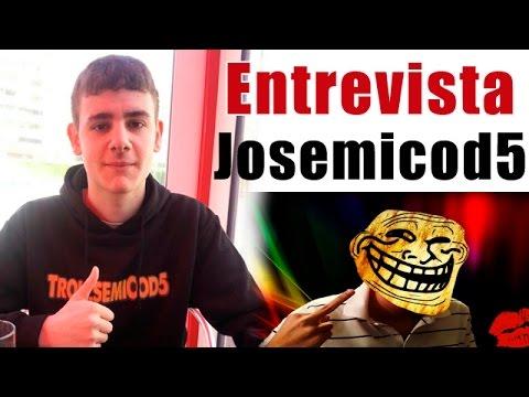 Entrevista al youtuber Josemicod5