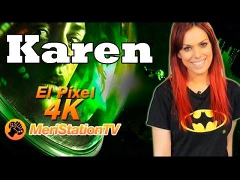 Karen. Presentadora de El Pixel de Meristation