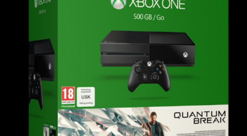 Dos Packs Xbox One preparados para Quantum Break