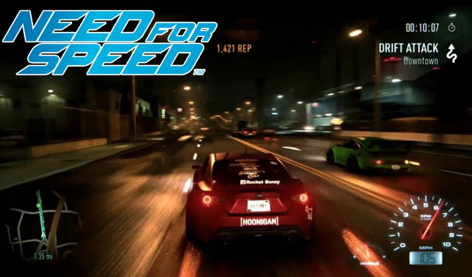 Need For Speed a alta velocidad en PC