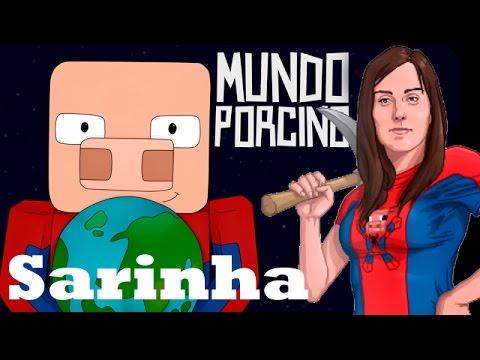 Sarinha, youtuber y creadora de mundo porcino