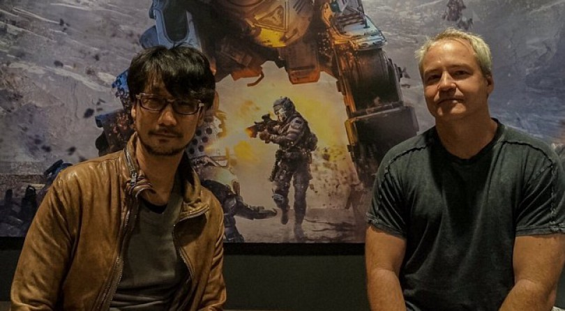 Hideo Kojima hace una visita a los creadores de Titanfall