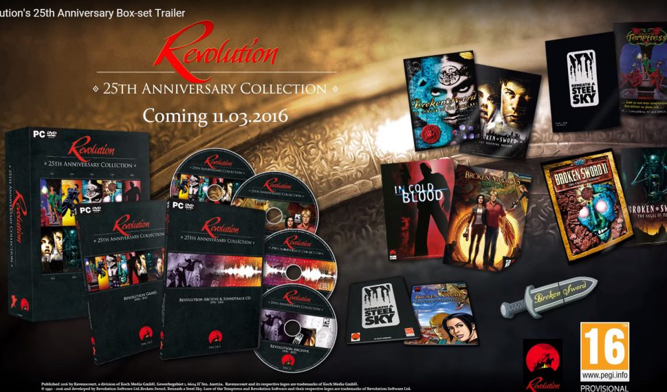 Revolution: the 25th Anniversary Collection exclusivo para PC