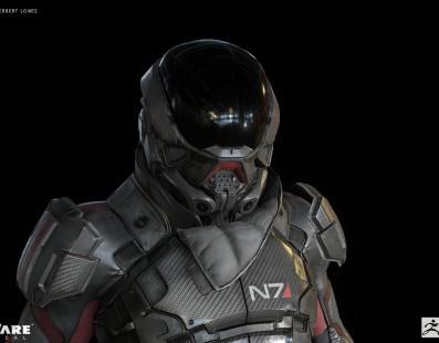 Nuevas imágenes del protagonista de Mass Effect Andromeda