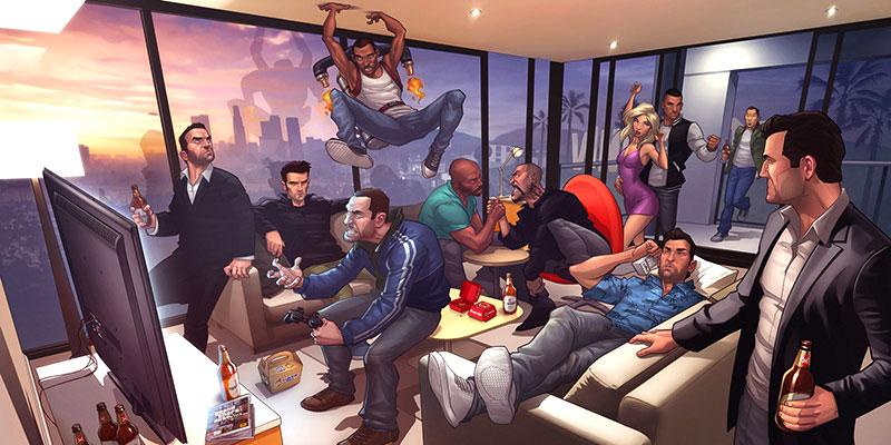 Los rumores de GTA VI comienzan