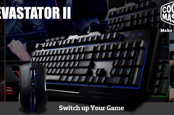 Análisis del pack de teclado+ratón Gaming Cooler Master Devastator II