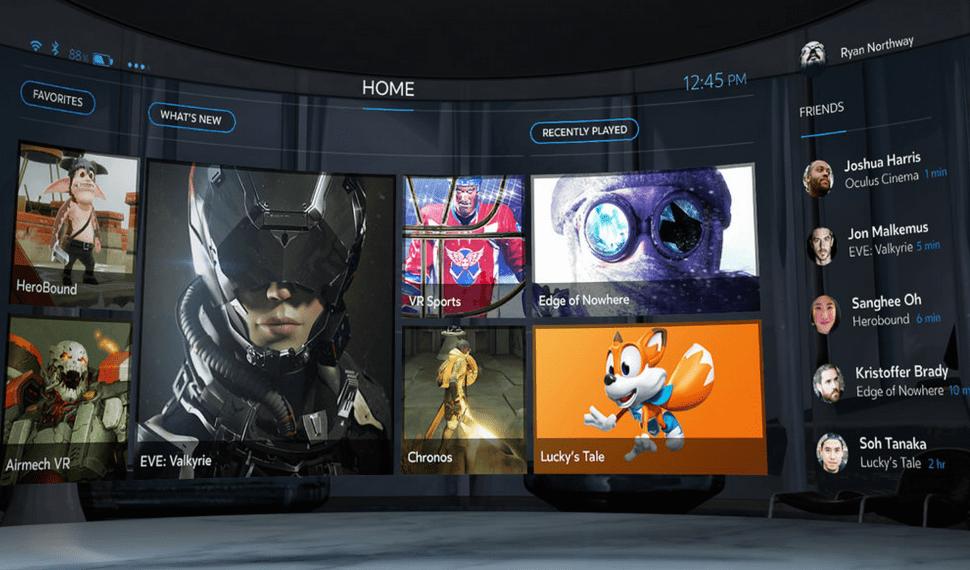 30 juegos acompañarán a Oculus Rift en su lanzamiento