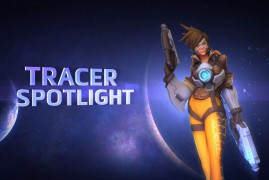 Tracer en Heroes of the Storm