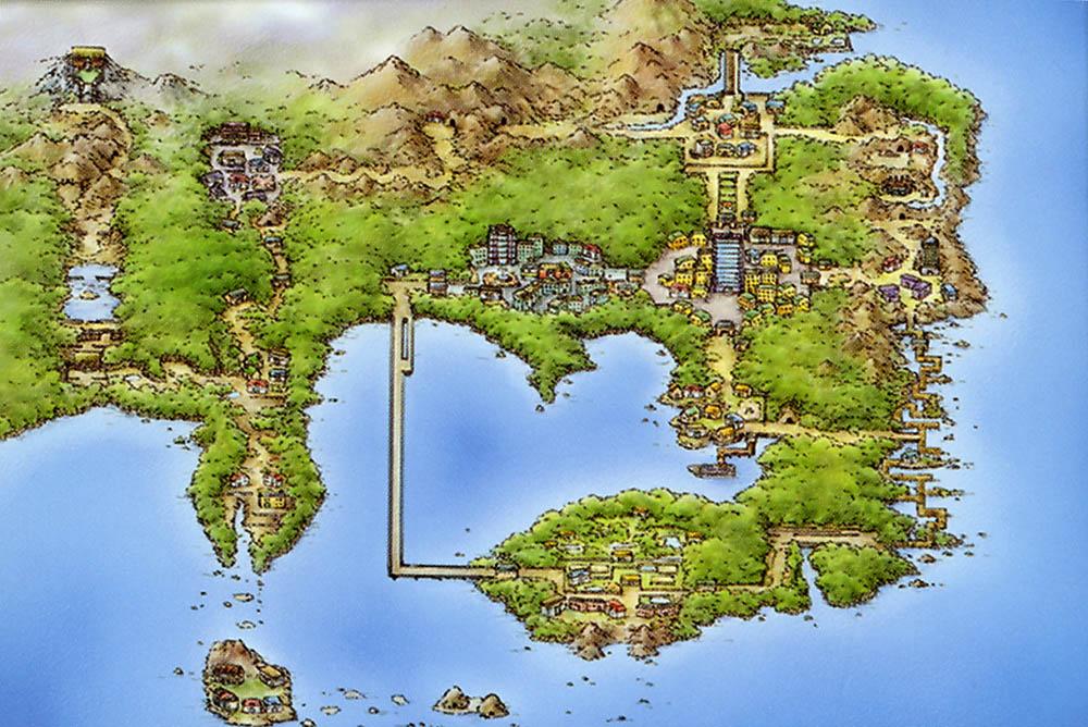 Kanto regiones de pokémon
