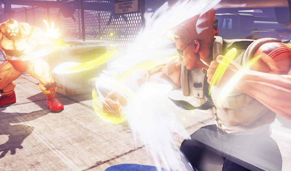 Nuevo personaje en Street Fighter V