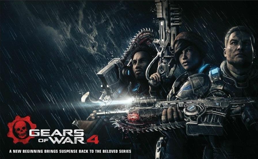 Gears of War 4 se lanzará con 10 mapas multijugador y tendrá contenido mensual gratuito
